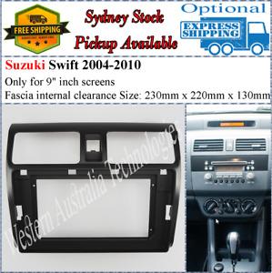 For 10 Ten Inch Screen Fascia facia Fits Suzuki Swift 2004-2010
