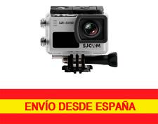 "SJCAM  SJ6 LEGEND 4K WiFi 16MP Pantalla Tactil 2"" Cámara deportiva PLATA"