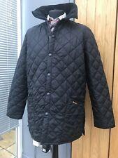 Men's Black BARBOUR Liddlesdale COUNTRY Jacket COAT Large 42-44' £179