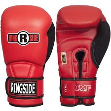 Ringside Gel Shock Safety Sparring Boxing Gloves Red/Black, 18 oz