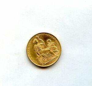 1965 Peru 20 Soles Gold Coin