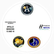NASA SPACE AUDIO - Mission Audio From Apollo Missions 13 and 14 On 1 Audio CD