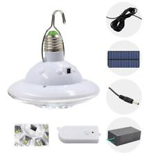 22LED Solar Light Portable Outdoor Camping Tent Remote Control Hanging Lamp Kit
