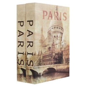 Barska Paris and Paris Dual Book Lock Box with Key Lock CB13058