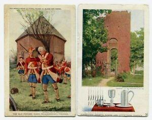 old powder horn Williamsburg, Church Tower, Jamestown Exposition 1907 (2)