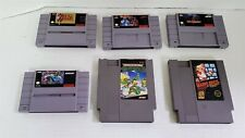 New ListingR17 Vintage Lot Of Nintendo Nes & Snes Games - Zelda, Mario, Ninja Turtles Etc