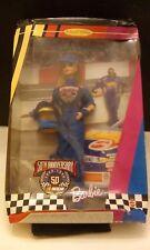 50th Anniversary Nascar Barbie Collector Edition Damaged box Mint Doll