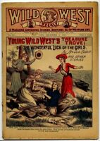 1918 WILD WEST WEEKLY • Early 6¢ PULP FICTION • Dime Novel • Dec 6