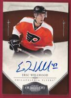 ERIC WELLWOOD RC 2010-11 DOMINION ROOKIE AUTO #169/199 AUTOGRAPH