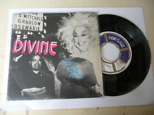 "DIVINE""SHOOT YOUR SHOT-disco 45 giri BABY It 1982"" PERFETTO"