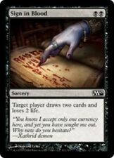 4x Sign in Blood NM-Mint, English Magic 2010 MTG Magic