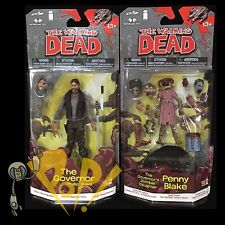 WALKING DEAD Comic Series 2 The GOVERNOR & ZOMBIE PENNY Action Figures McFarlane