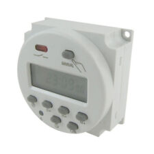 DC 12V Timer Switch Digital Programmable Control LCD Display Time Relay Day/Week
