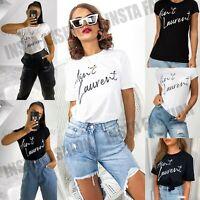 Womens Ladies Ain't Laurent Slogan T-shirt Top Tee Short Sleeve Sleeved