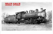 6EE114 RP 1951/60?s RP CB&Q BURLINGTON RAILROAD LOCO #520 YATES CITY IL