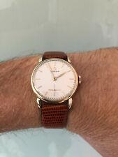 Orologio vintage LUXURY watch OMEGA anse a goccia calibro 266 Gold plated 80 Mc