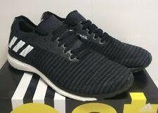 Adidas Mens Sz 8 Adizero Prime Boost Running Training Black White Shoes B37401