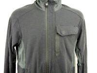 Lululemon Women's Jacket Size 8 Gray Full Zip Mock Neck Vented