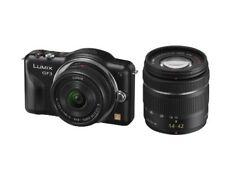 Panasonic Miralles Single-Lens Camera Lumix Gf3 Double Lens Kit Esprit Black