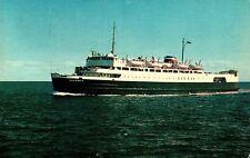 M.V.S Abegweit Ice Breaker Ship POST CARD