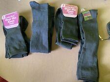 6 pair black over the knee socks Bn