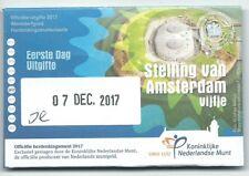 Coincard eerste dag van uitgifte €5 stelling van Amsterdam 2017 uitverkocht KNM!