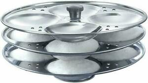 Premium Quality 3 Rack Idli Stand Stainless Steel Idli Maker Kitchen Appliances
