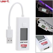 UNI-T UT658B 3.5A 10CM 9V USB Voltage Monitor Current Capacity Meter Tester LCD