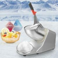 300W Ice Shaver Machine Snow Cone Maker Shaved Ice 143lbs Electric Crusher 2021