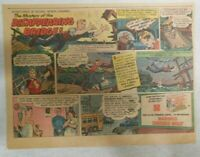 Nabisco Cereal Ad: Disappearing Bridge Shredded Wheat 1940's Size: 7 x 10 inches