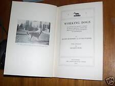 V. RARE GERMAN SHEPHERD ALSATIAN  DOG BOOK 1934 WARNER