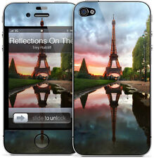 Gelaskin Gelaskins iPhone 4 4S Trey Ratcliff Reflections On The Eiffel Tower