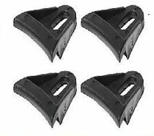 """4 NEW SPEAKER GRILL CLIPS PLASTIC WAFFLE SUBWOOFER - FITS 6"""" 8"""" 10"""" 12"""" 15"""" 18"""""""