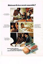 """PUBLICITE  1971   REXONA  déodorant """" leur avenir ensemble?"""""""