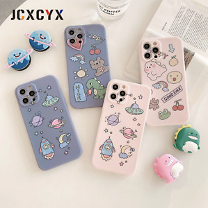 3D Luxury Cute astronaut Soft silicone phone case for iPhone