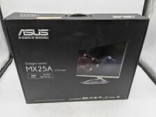 "New ASUS MX MX25AQ 25"" LCD Monitor, Space Gray/Black - OP1086"