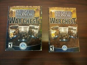 Medal of Honor: Allied Assault War Chest - PC Game2004   5 CDs and Manual
