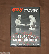 ROH CHAOS at the COW PALACE (DVD) 2007 *BRAND NEW* RING OF HONOR WWE PWG *RARE*
