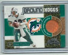 Dan Marino 2000 Playoff Absolute Ground Hoggs Shoe Card /135