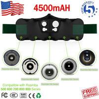 14.4V NI-MH 4.5AH Vacuum Battery For iRobot Roomba R3 500 510 529 700 880 600 US