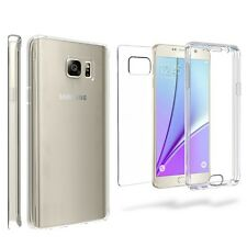 For Galaxy Note 5 Clear Scratch Resistant Full Wrap Screen Protector Cover Case