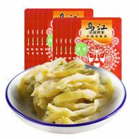 【Pack of 10】乌江涪陵榨菜(清香 清爽)80g x10袋 WuJiang Pickle Preserved Vegetable Zhacai