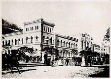 1919 Vintage Photo Casino & Gambling Karlovy Vary Carlsbad Czech Republic street