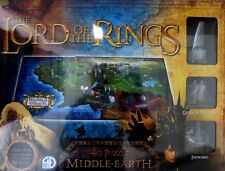 LORD of the RINGS 4D Puzzle of Middle Earth ca.94x63x10cm 2100 +  Teile NEU OVP