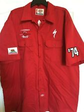 Specialized Bicycles Logo Men's Dickies Team Work Shirt 2Xl Xxl Red