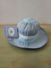 Wallaroo Hat Company Girls Petite Nantucket Wind Resistant Crushable Sun Shade