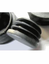 "1 1/2"" inch Round Tube End Plug. End Blanking Plug,Chair Glide-Black - 24 Plugs"
