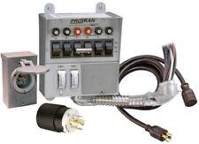 NEW RELIANCE 31406CRK PRO TRAN GENERATOR POWER TRANSFER SWITCH KIT 6 CIRCUIT 30A