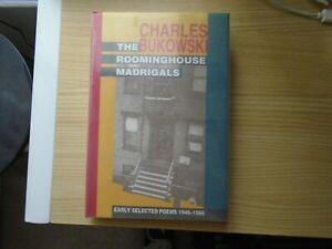 "1988 1st HC ED CHARLES BUKOWSKI ""ROOMINGHOUSE MADRIGALS"", BLACK SPARROW PRESS"