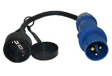 CEE Stecker mit Adapterkabel, Kabel, Adapter, Wohnwagen
